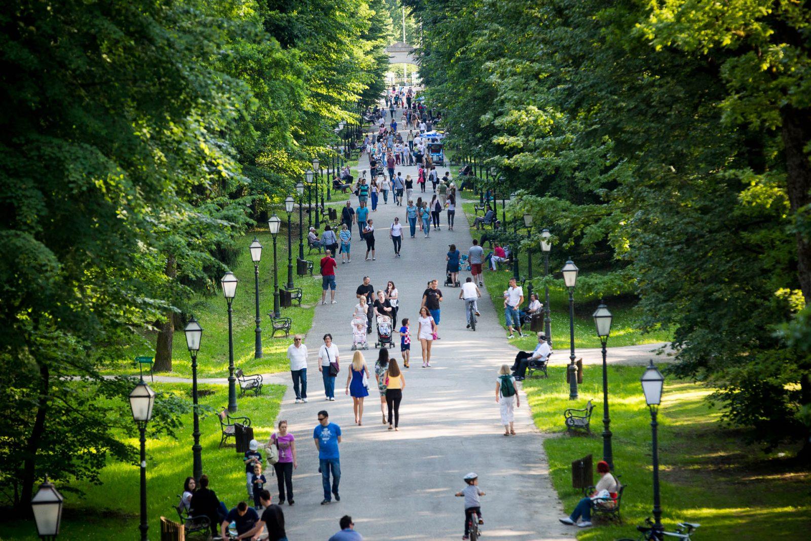 Maksimir Zagreb park