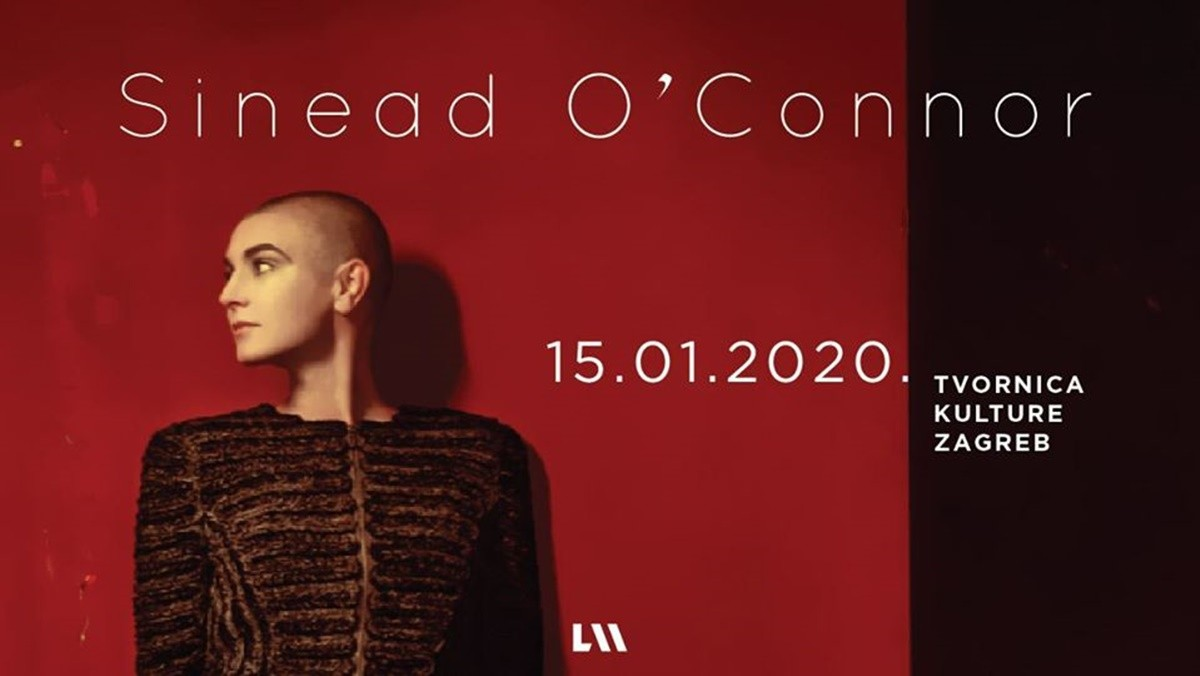 Photo of Sinead O'Connor Performing in Zagreb for the First Time!